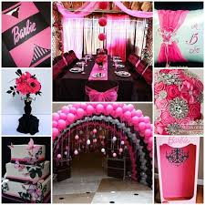 Pink And Black Sweet 16 Decorations 21 Best Quinceanera Images On Pinterest Sweet Fifteen