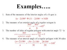Interior Angles Calculator Interior And Exterior Angles Of A Polygon Formula