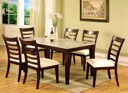 apartments appealing cream granite dining table sets rooms