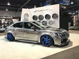 silver subaru wrx engraved wrx sti is probably the oddest subaru you u0027ll see at sema