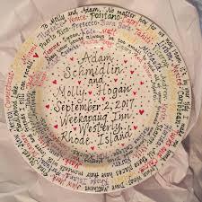 painted wedding plates personalized 16 customized wedding plate personalized gifts and painted