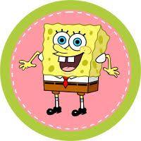 spongebob cake toppers spongebob cupcake topper printables p a r t y