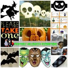 10 printable halloween decorations frugal fanatic