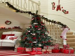 decorated country christmas trees
