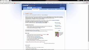 convert pdf to word cutepdf pro cutepdf writer download and installation and how to use it in