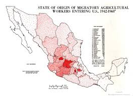 Mexican Map With States by