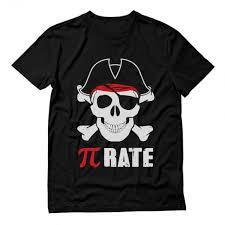 pi rate pirate skull and crossbones pi day greenturtle