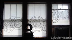 diy gallifreyan blinds