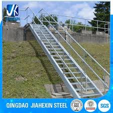 Access Stairs Design Galvanized Outdoor Straight Access Staircase Buy Galvanized