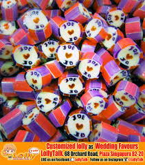 customized wedding favors wedding favors with customized handmade candy by lollytalk