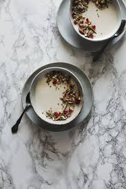 vanilla bean panna cotta and pickled rhubarb slim palate