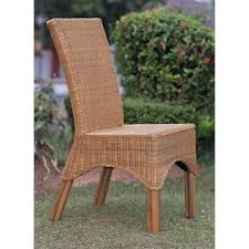 Outdoor Rattan Dining Chairs Indoor Rattan Dining Chairs Wayfair