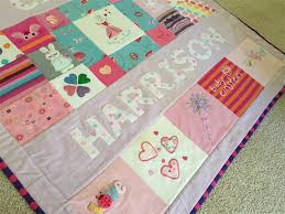 memory clothes custom made baby clothes memory quilt frank milly madeit au
