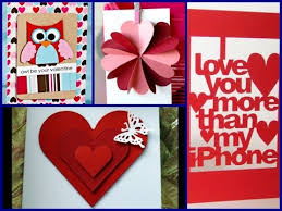 cool valentines cards 25 cool diy s day card 2017