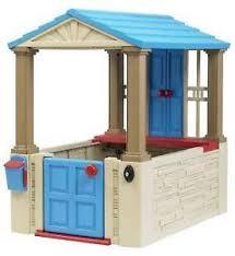 Wooden Backyard Playhouse Outdoor Playhouse Ebay