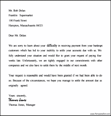 collection letter example collection letter examples example