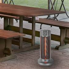 patio table with heater infra red under table heater infra red table heating outdoor