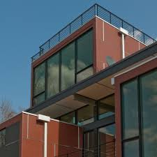 Industrial Modern House Bridging The Gap Unusually Structured House Merges The Gap
