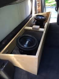 Diy Speaker Box Schematics Club Cab Custom Subwoofer Box Build W Pics Dodgeforum Com