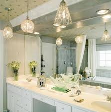 ceiling mounted bathroom vanity light fixtures home design photo