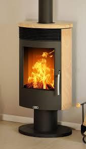 Pedestal Wood Burning Stoves Rotating Pedestal 5kw Wood Burning Stove