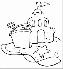 beautiful summer vacation coloring pages summer color pages