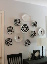 black and white decorative plates for hanging u2014 home design
