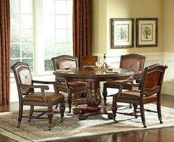 upholstered dining room chairs casters swivel casual with wheels
