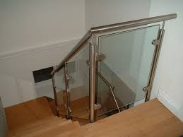 Types Of Banisters Glass Stair Railing Type Elegant And Safety Glass Stair Railing