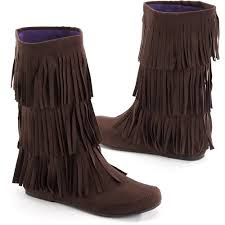 womens boots at walmart miley cyrus max azria s sueded fringe boots walmart com