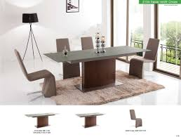 2156 dining table with 6609 chairs modern casual dining sets