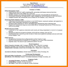 Skills Section Resume Examples by Job Skills Examples For Resume Job Skills Examples For Resume