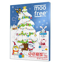 advent calendar moo free advent calendar 100 g co uk grocery