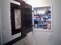 Bathroom Medicine Cabinets Recessed Medicine Cabinet Mesmerizing Wood Medicine Cabinet No Mirror Home