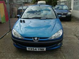 peugeot blue used peugeot 206 blue for sale motors co uk