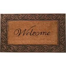 Welcome Doormats Welcome Door Mats You U0027ll Love Wayfair