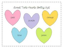 conversation heart graphing with free printable