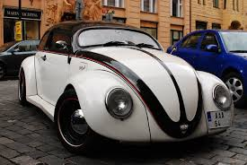 bug volkswagen 2016 lowered volkswagen bug in prague cc0 photo