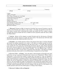 45 free promissory note templates forms word pdf template lab pay