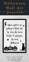 halloween printable wall art when witches go riding kelly