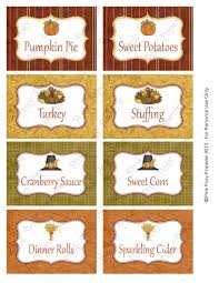 thanksgiving food labels printable bootsforcheaper