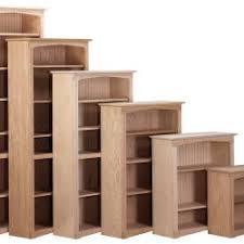 Natural Wood Bookcases Bookcases Finished Unfinished Custom Finished Soild Wood