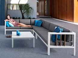 sofa weiãÿ gã nstig lounge garten sofa applebee alu weiß stoff grau garten