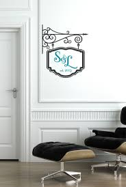 monogram wall decals for nursery the 25 best monogram wall decals ideas on pinterest owl nursey