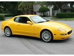 maserati yellow 2002 maserati cambiocorsa for sale classiccars com cc 1024254