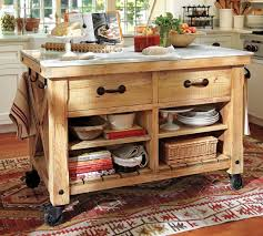roll around kitchen island kitchen island on wheels pottery barn decoraci on interior