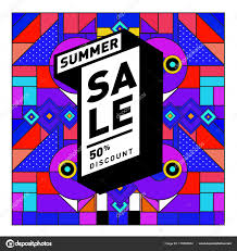 discount travel images Summer sale memphis style web banner fashion travel discount jpg