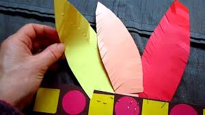arts crafts red indian paper hat youtube