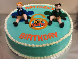 wild kratts cake cakecentral com