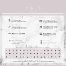 resume template with picture resume template archives hired design studio